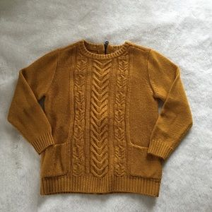 Urban Outfitters Mustard Yellow Sweater